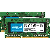 Crucial 16GB Kit (8GBx2) DDR3-1600 MT/s (PC3-12800) 204-Pin…