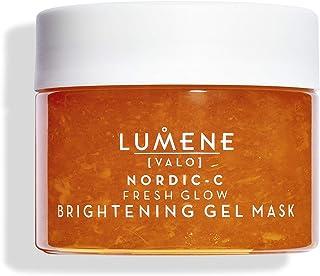 Lumene Nordic-C [Valo] Fresh Glow 亮肤凝胶面膜,5.1 液体盎司,面膜含维生素 C