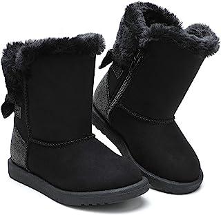 tombik 幼儿女孩保暖冬季雪地靴