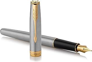 Parker 派克 Sonnet 钢笔 细尖 約146mmx9mm 不锈钢GT