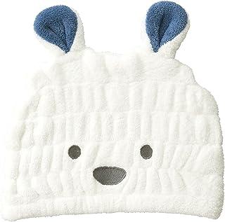 CB JAPAN 发带头巾 白熊 吸水 速干 儿童干发帽 超细纤维 carari zooie carari