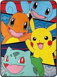 "Franco Manufacturing Pokemon 46"" X 60"" 毛绒抱毯"