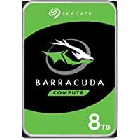 Seagate 希捷 BarraCuda 8TB 内置硬盘HDD – 3.5英寸(约8.89厘米)Sata 6 Gb…