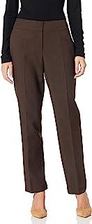 Kasper 女式斜纹棉布裤