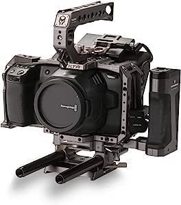 BMPCC 4K/6K 高级套装 倾斜相机笼TA-T01-A-G Tilta Gray