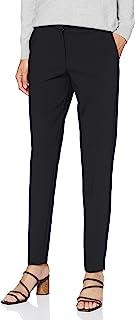 SELECTED FEMME 女士Slfrita Mw 修身长裤 黑色 B Noos 长裤