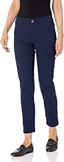 Calvin Klein 女士女士斜纹四口袋长裤