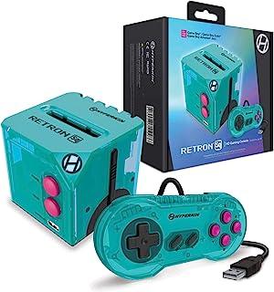 【懐かしいゲームボーイを大画面でプレイ】Hyperkin RetroN Sq: HD Gaming Console (カラー:ハイパービーチ/Hyper Beach) For Game Boy®/Game Boy Color®/Game Boy...