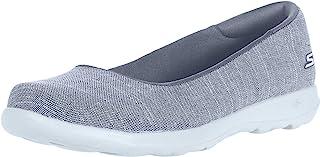 Skechers Go Walk Lite-136001 女士芭蕾平底鞋