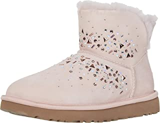 UGG 女式经典银河闪耀迷你靴