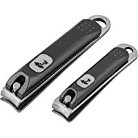 不锈钢*钳套装 适用于男士或女士,黑色哑光表面