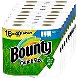 Bounty quick-size 纸巾 16 Family Rolls 16