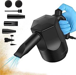 大功率电动压缩空气除尘器,专业鼓风机替换罐头空气,用于清洁灰尘、*、面包屑、电脑、键盘、多用途充气器空气泵,用于空气缓冲、游泳圈