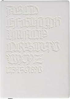 Daycraft 德格夫 旗舰古腾堡系列笔记本 - A6, Gutenberg Bibel, 白色封面 意大利 PU材质