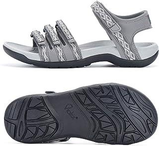 Viakix 女士徒步凉鞋 - 舒适运动时尚,适合徒步、户外、散步、海滩、水、运动