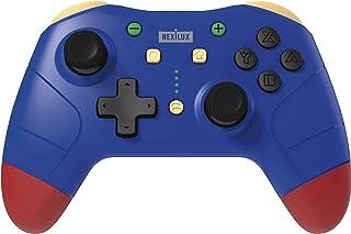 任天堂 Switch & Switch Lite 无线专业控制器(运动传感器、NFC & Turbo 增强)、PC、Android 手机和 Android TV - 蓝色