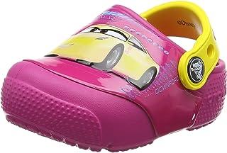 Crocs 卡骆驰儿童 Fun Lab Light Up Cars 3 洞洞鞋