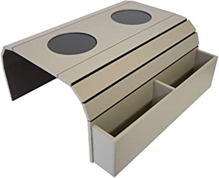 沙发臂托盘桌。 遥控器和手机收纳架,臂房收纳架,*佳品质,臂房桌带口袋