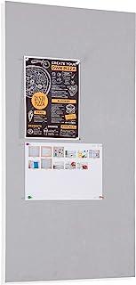 Franken ETP812 – 纺织黑板,75 x 115厘米,灰色,1件