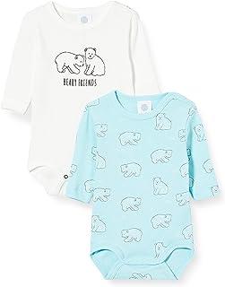 Sanetta 男婴长袖 两件装 破碎白 幼儿内衣套装