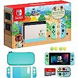 Nintendo 任天堂 Switch *和蓝色 Joy-Con - Animal Crossing: New Hori…