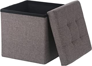 不二贸易 收纳凳 折叠 宽30厘米 木炭 脚凳 承重80千克 HANTO 85992