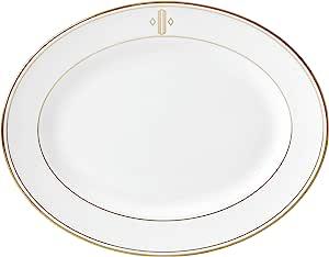 Lenox 联邦金块交织字母餐具 字母 O 874134