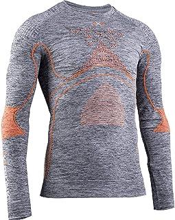 X-Bionic 男士 Energy Accumulator 4.0 混色衬衫圆领长袖男士衬衫