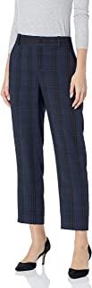 Vince 女式柔软现代格子锥形裤