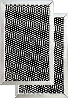 Amazinpure JX81C 微波炭过滤器 [OEM 部件#GE WB02X10776 WB02X11495 LG 5230W1A011B 5230W1A011C Amana 351190032 Whirlpool W10190762A, ...