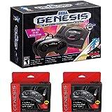 Retro-Bit Sega Genesis 迷你套装,带 6 键 USB 控制器双包装