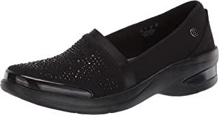 BZees 女士红热一脚蹬乐福鞋