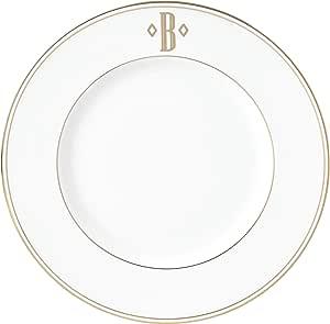 Lenox 联邦金块交织字母餐具 字母 B 870048