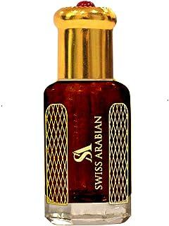 Aljazeera 12 毫升 | 手工手工制作香水精油香氛,适合男士和女士| 传统阿塔尔风格古龙水 | 香水瑞士阿拉伯乌木 | 礼物/派对礼品 | 身体油
