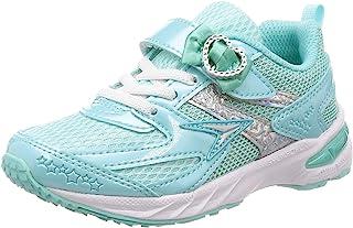 SYUNSOKU 瞬足 轻便防滑学生运动鞋 V8 15 cm~23 cm 2.5E 女童 LEC 5710 浅蓝色 21.5 cm