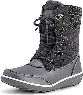Polar Products 女式雪鸭冬季耐用保暖防水及踝靴