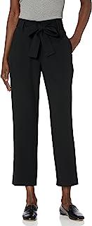 BCBGeneration 女式编织腰部系带九分裤
