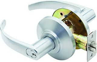 Stanley Best 7KC 37 AB 14D S3 626 7 针回归中号锁具,入口,缎面铬,5.08 cm