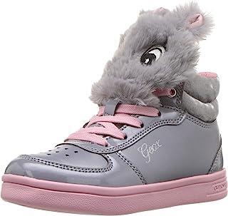 Geox 儿童 Dj Rock Girl 15 高帮运动鞋