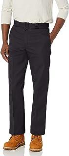Dickies 男式软管874工装裤水洗运动长裤 黑色 32W x 32L