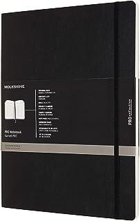 "Moleskine PRO Notebookk, Soft Cover, XXL (8.5"" x 11"") Professional Project önig 黑色"