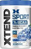 Scivation Xtend Hydrasport Bcaa Powder, Blue Raspberry, 30 S…