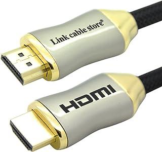 LCS–Orion–CABLE HDMI 1.4–2.0专业–3d–超高清4K 2160P–FULL HD 1080P–Audio RETURN 通道 (Arc) 高性能视频信号与以太网–gold-plate...