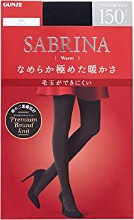 [郡是] 紧身裤 Sabrina 保暖 极其保暖 150丹尼尔 SBW25 女式
