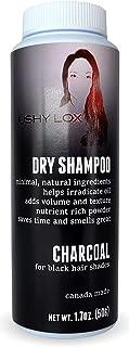 Lushy Lox 干洗发水粉,适用于黑发帘 - 天然成分 1.7 盎司(约 48.2 克)