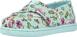 TOMS 儿童 10009918 Alpargata-K Mint Poolside Floaties Print 7 M US Toddler