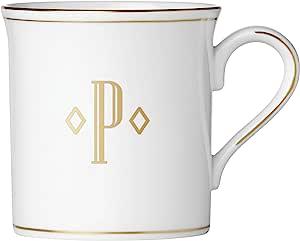 Lenox 联邦金块交织字母餐具 字母 P 874369