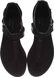 Clarks 女士 Bay Post 封闭芭蕾舞鞋