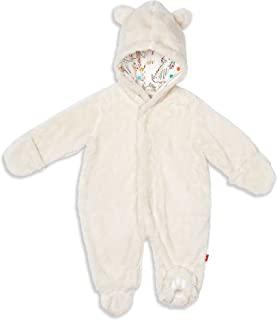婴儿中性款婴儿宝宝面霜熊连帽衣