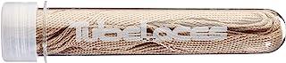 TubeLaces Women's White Flat SchnürsenkelShoe Laces Braun (Khaki)